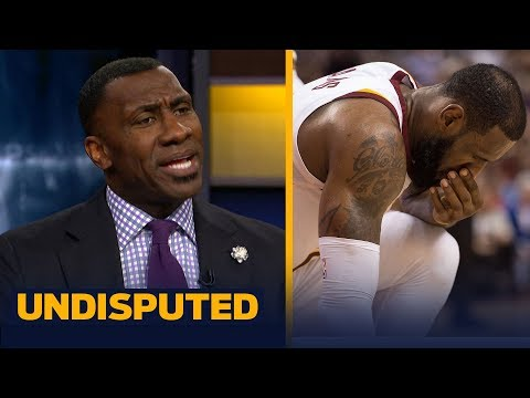 Shannon Sharpe reacts to LeBron James' retirement comments | UNDISPUTED