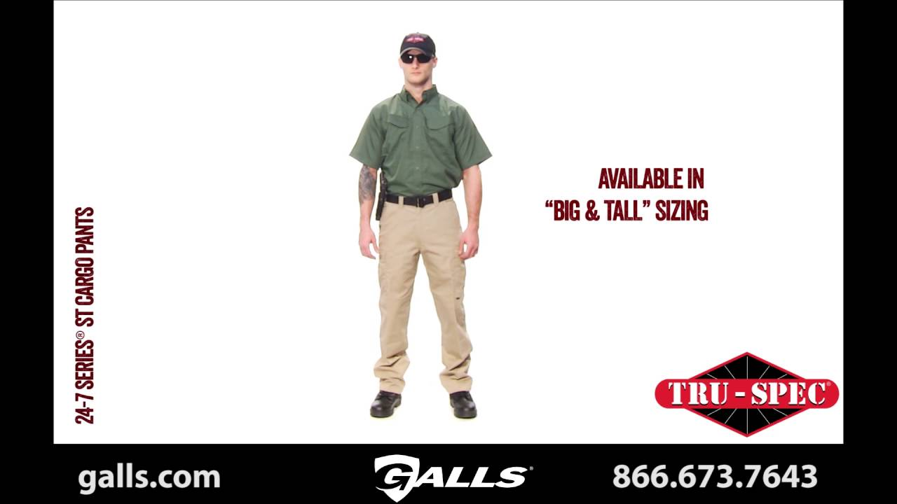 443f54196494e TRU-SPEC 24-7 Series Simply Tactical Cargo Pants and Shorts at Galls ...