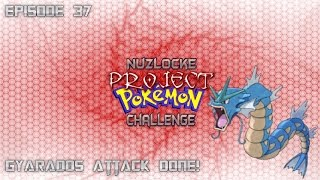 """Roblox Project Pokemon Nuzlocke Challenge - #37 """"Gyarados Attack Done!"""" - Live Commentary"""