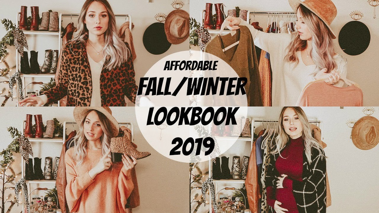 [VIDEO] - AFFORDABLE FALL/WINTER OUTFIT IDEAS 2019! ♡ 8