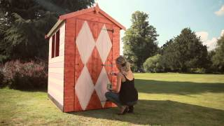 Shed Ideas: How To Create A 1950s Themed Garden Shed