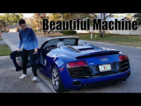 Meet the Audi R8 V10 Spyder