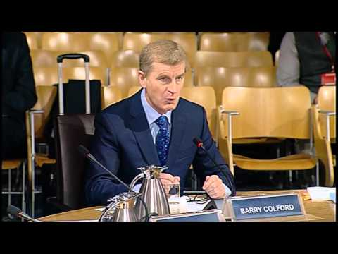 Infrastructure and Capital Investment Committee - Scottish Parliament: 27th January 2016