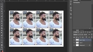 Comment créer un 8 PP photo format passeport En 1Minutes.Très Facile D'Étapes.