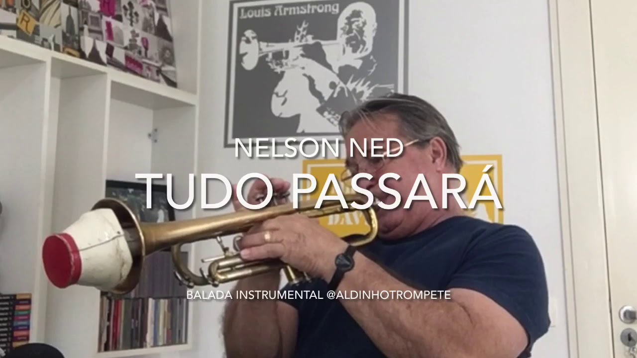 Uma canção de 1969 Tudo Passará. Nelson Ned.  solo instrumental @aldinhotrompete