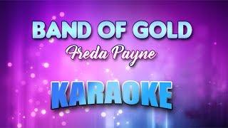 BAND OF GOLD - FREDA PAYNE (Karaoke version with Lyrics)