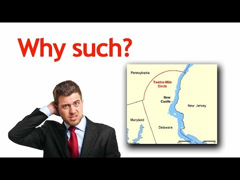 Weird State Borders of the United States of America - Interesting Knowledge to Gain