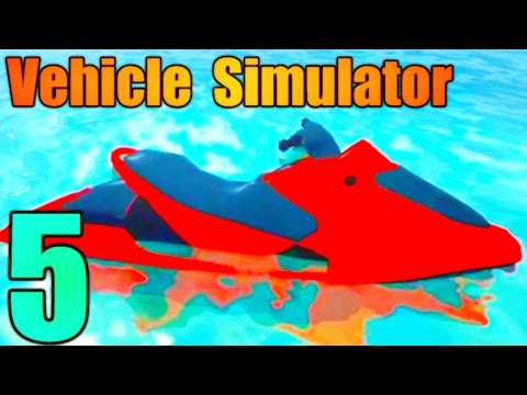 [ROBLOX: Vehicle Simulator] - Lets Play Ep 5 - RACING AND BOATS! - Ft. Fallenfalcon