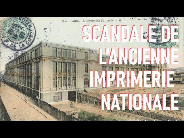 Affaire de l'imprimerie nationale : nos élites sont corrompues