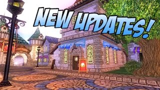 Wizard101: Spring Update is Here! - New Crown Shop Packs, Hairstyles