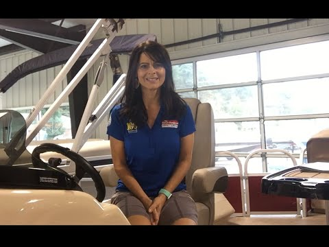 2019 Sun Tracker Fishin' Barge 24 DLX for sale at The Great Outdoors Marine in Lavalette, WV Mp3