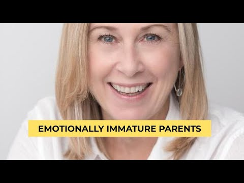 Emotionally immature parents and their adult children