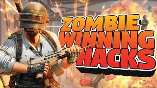 PUBG MOBILE LIVE: WINNING ZOMBIE WITH HACKS NOT RPG-7 | NEW UPDATE 0.12.0 | RAWKNEE