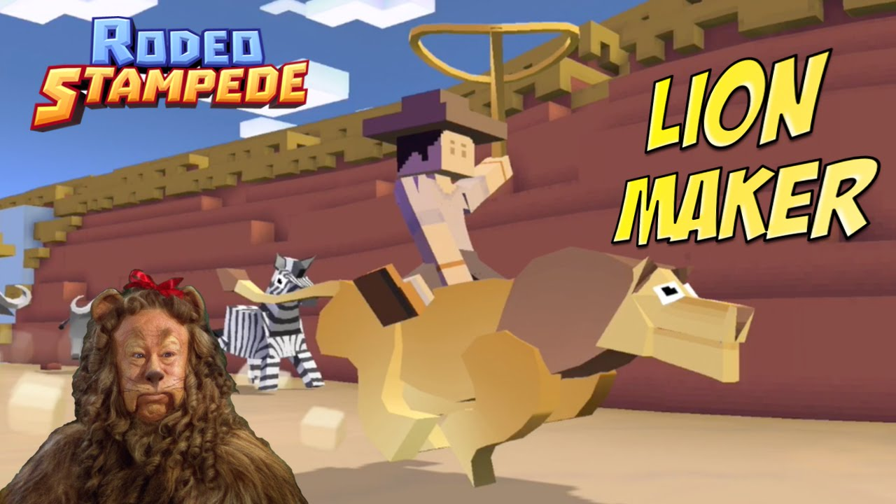 Rodeo Stampede We Tame Lion Youtube