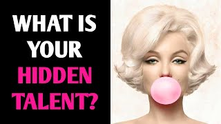 WHAT IS YOUR HIDDEN TALENT? Personality Test Quiz - 1 Million Tests