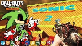 SONIC ZOMBIES! (Second Edition) - BUYABLE ENDING & TELEPORTERS! (Black Ops 3: Custom Zombies)