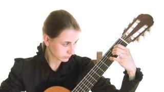 John Dowland, Lachrimae Pavan, classical guitar Nataly Makovskaya
