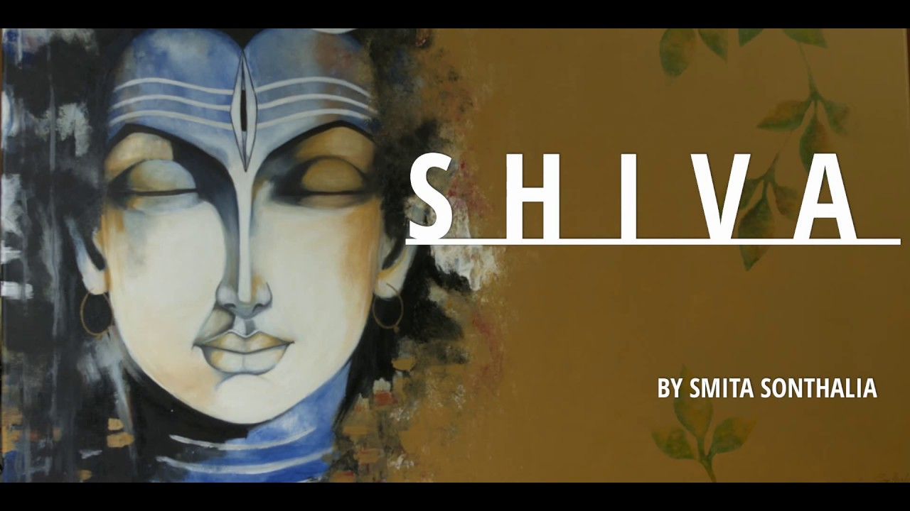 The Love for Art- Shiva Painting