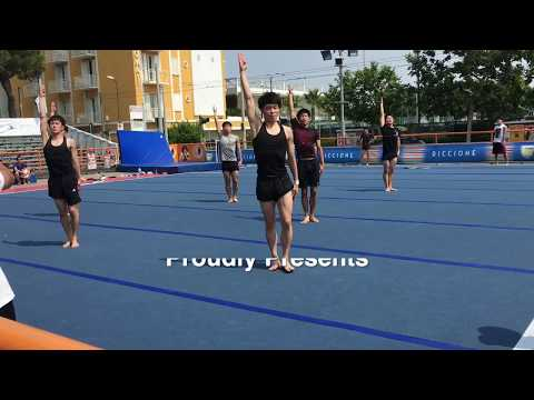 Kokushikan, Japan, Training Session, Arena Giardini, Festival del Sole, Italy