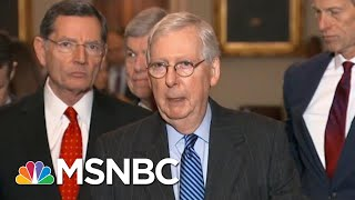 McConnell Rolls Out Trump Trial Plan Without Witnesses, Democrats Say It's A 'Cover-Up' | MSNBC