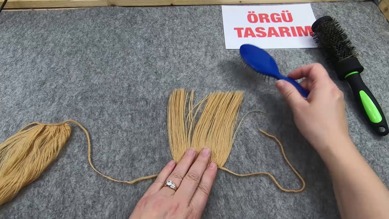 Oyuncak Bebek Saçı Yapımı - Mimuu.com | 720x1280
