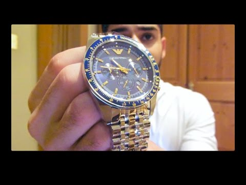 Emporio Armani AR4608 meccanico watch f32d8224aa