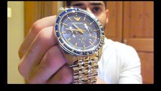 emporio armani ar6088 watch review discount code