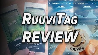 Ruuvi Tag review: Sensors, BLE, JavaScript and lots of nerd