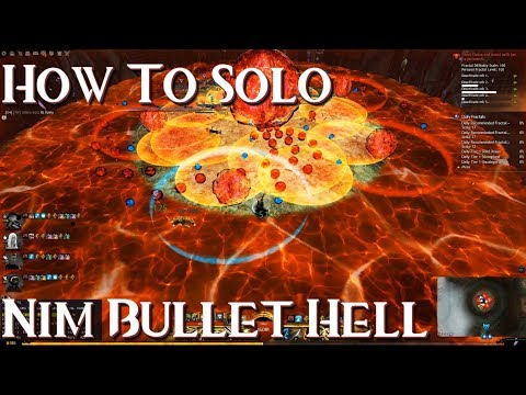 GW2 | How to Solo Ensolyss's Bullet Hell