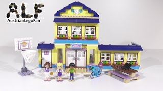 Lego Friends 41005 Heartlake High - Lego Speed Build Build Review