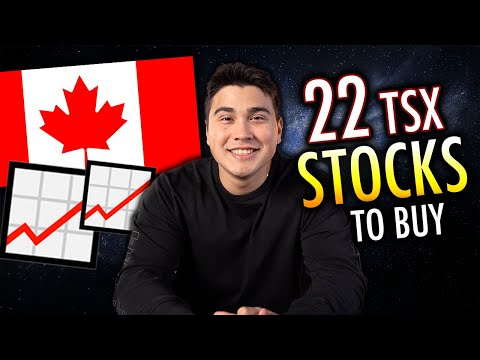 TSX Master List - 22 Of The BEST Stocks To Buy In CANADA
