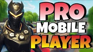 PRO Fortnite Mobile Player on IPAD // FAST Builder! // 180+ Wins! // Fortnite Mobile Gameplay!