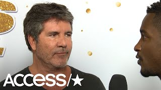 'AGT': Heidi, Tyra, Howie & Simon Cowell On Michael Ketterer's Performance Bringing Simon To Tears!