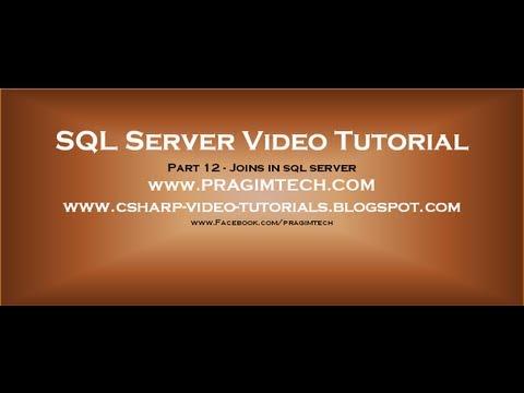 Joins in sql server - Part 12