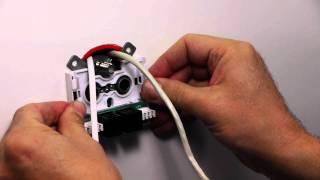 Wie soll eine Antennensteckdose installiert werden?