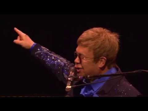 Elton John Jonah Lomu Tribute Wellington Concert NZ Nov 21 2015