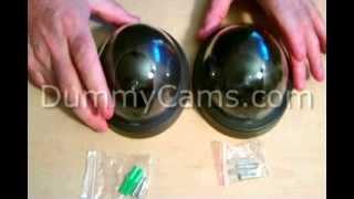 Dummy Dome Camera, Fake Dome Security Cameras