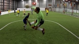 Indoor Soccer Keeper Saves | Logan Reid | 5-7-2014
