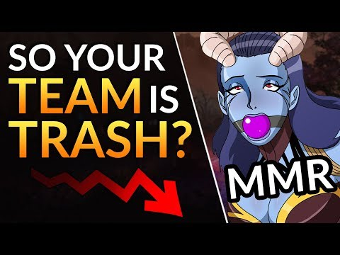 TEAMMATE SYNDROME has your MMR HOSTAGE: Tips to IMPROVE, RANK UP and AVOID TILT | Dota 2 Pro Guide