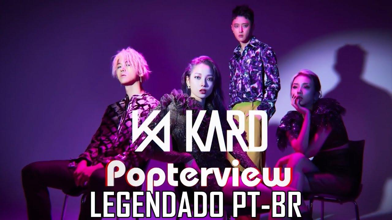 [PT-BR] Entrevista do KARD no Pops In Seoul - GUNSHOT