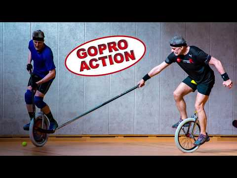 GOPRO ACTION: Einradhockey Training mit den Panzerknackern