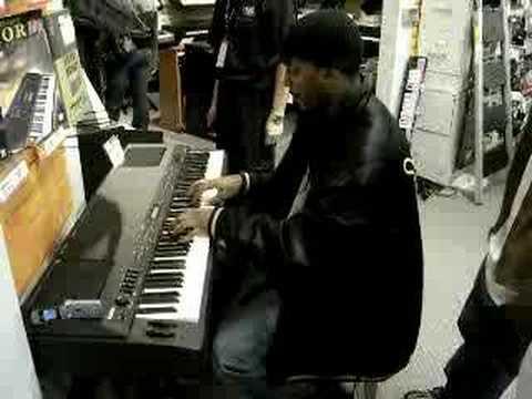 David Ethington playin keys