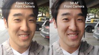 SAMSUNG GALAXY S8: Best Selfie Camera For Vlogging