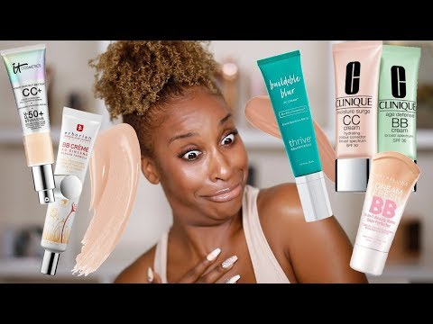 FINALLY A DARK ENOUGH CC Cream!!!!! | Jackie Aina