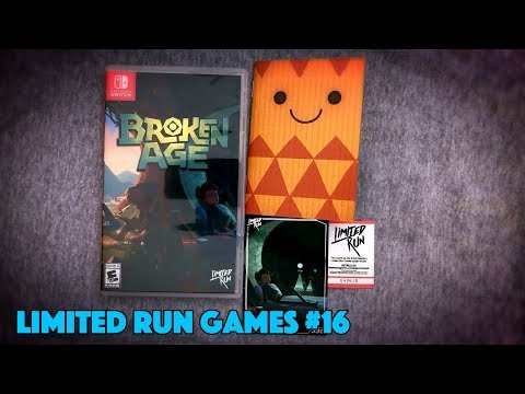 UNBOXING! Broken Age Standard Edition Nintendo Switch Limited Run Games #16