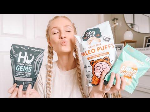 Huge Healthy Vegan Snack Haul | THRIVE MARKET