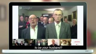 Google+ Hangouts - Same sex marriage