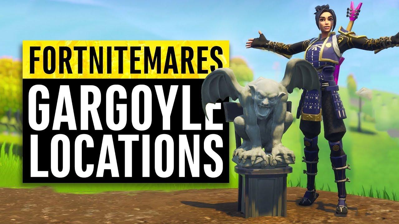 Fortnite all gargoyle locations