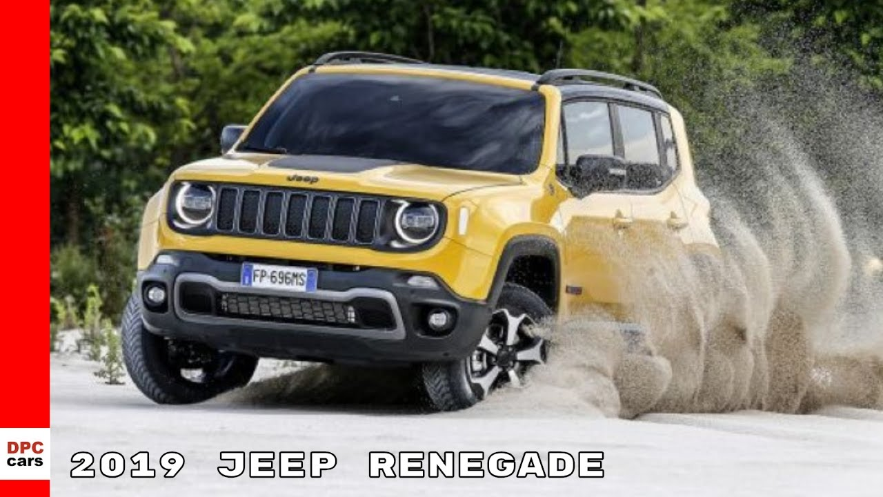 Lifted Jeep Renegade Sport >> 2019 Jeep Renegade - YouTube
