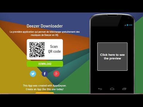 descargar deezer downloader gratis para android